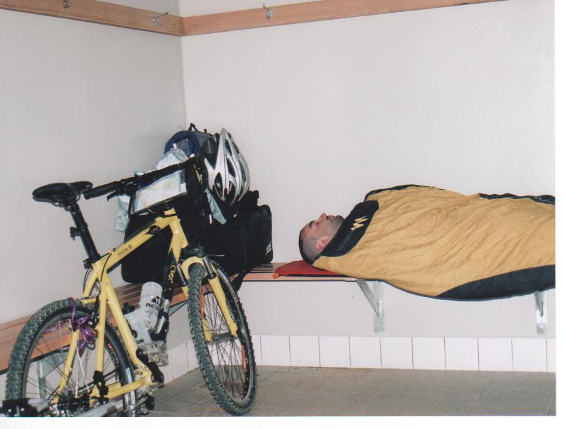 dormir en stanwell park, australia en bici