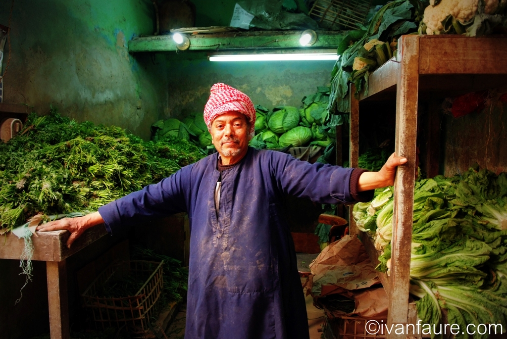 bazar khan el khalili frutería