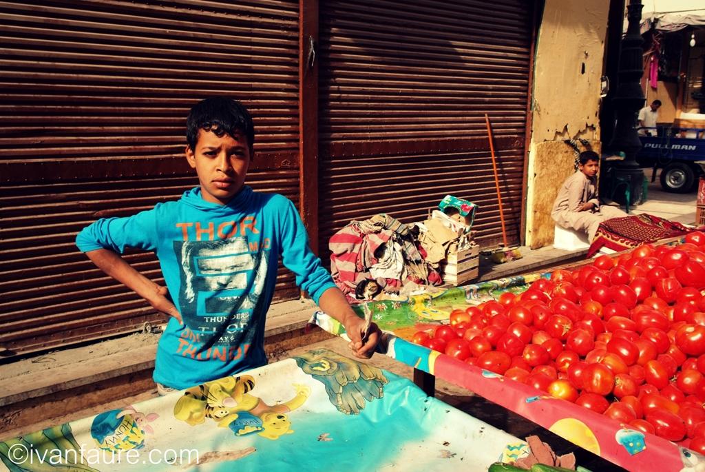 mercado aswan egipto