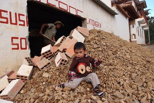 niño y trabajado en villa de leyva