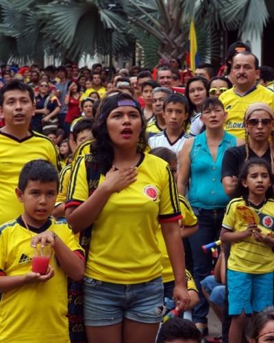 Colombia-Brasil Mundial 2014