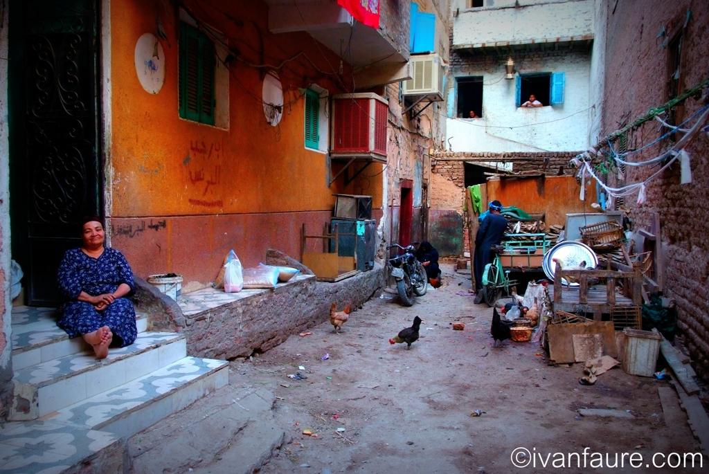 vida en la calle egipto