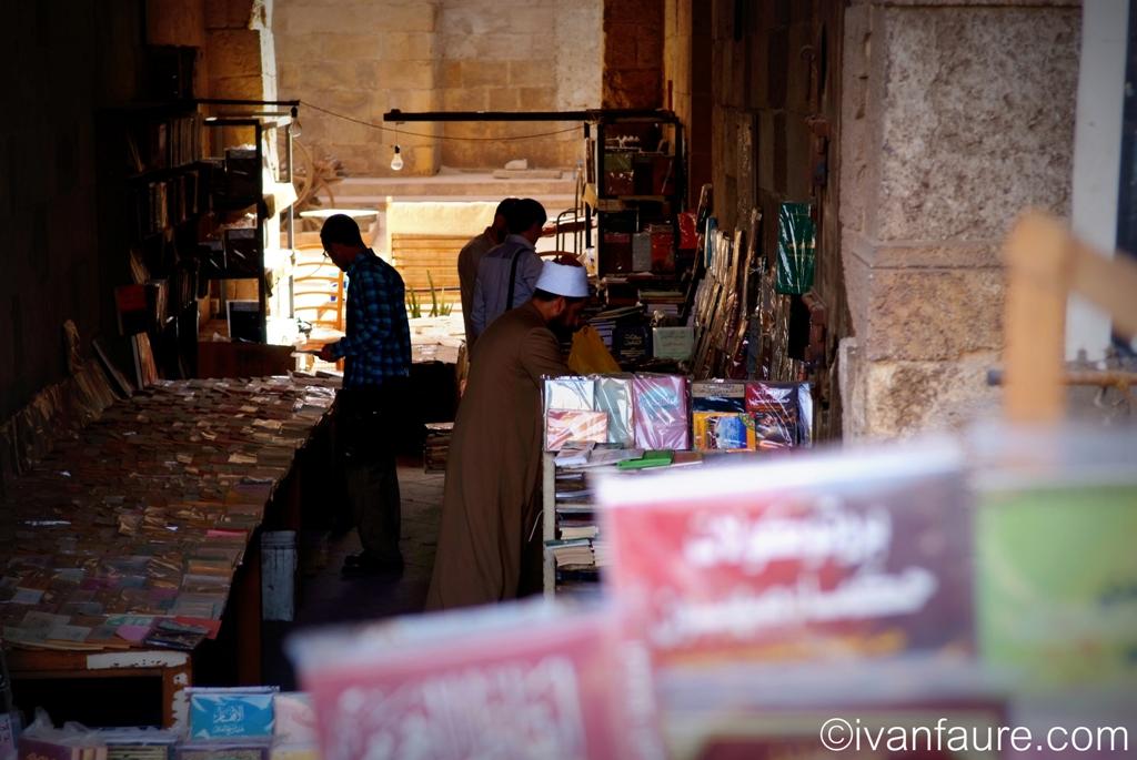 librería en el cairo