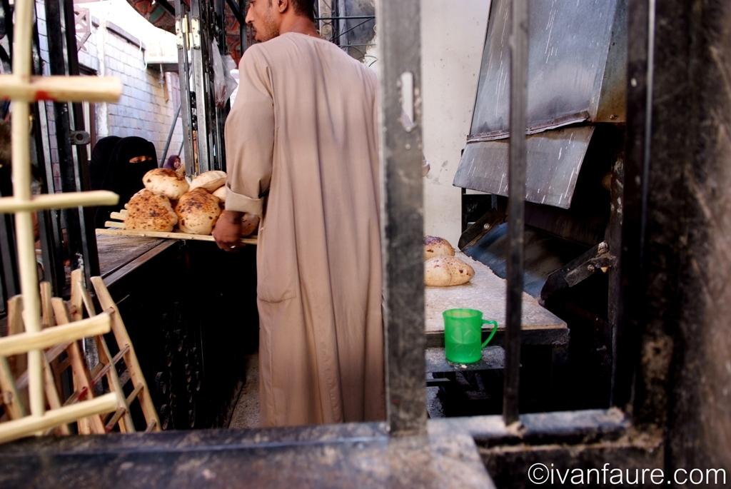 panadería mercado aswan