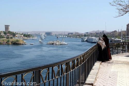 ciudad de aswan egipto