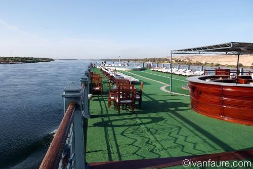 barco para crucero nilo