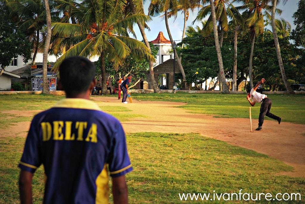cricket en el fuerte de galle sri lanka