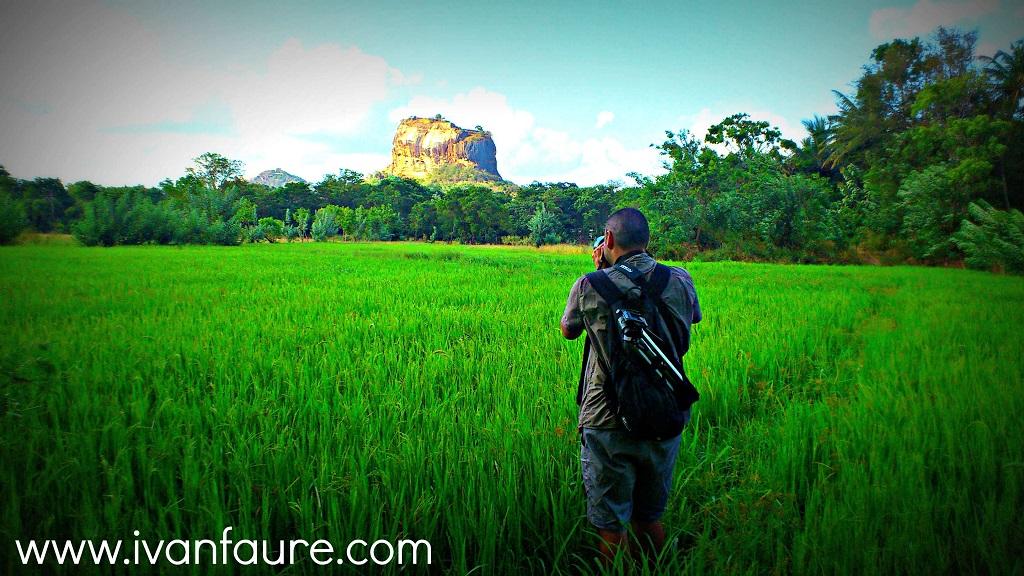 vista panoramica roca del leon sigiriya
