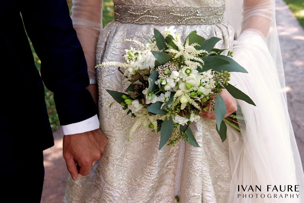 ramo de flores boda