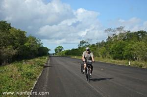 yo en bici por yucatan mexico