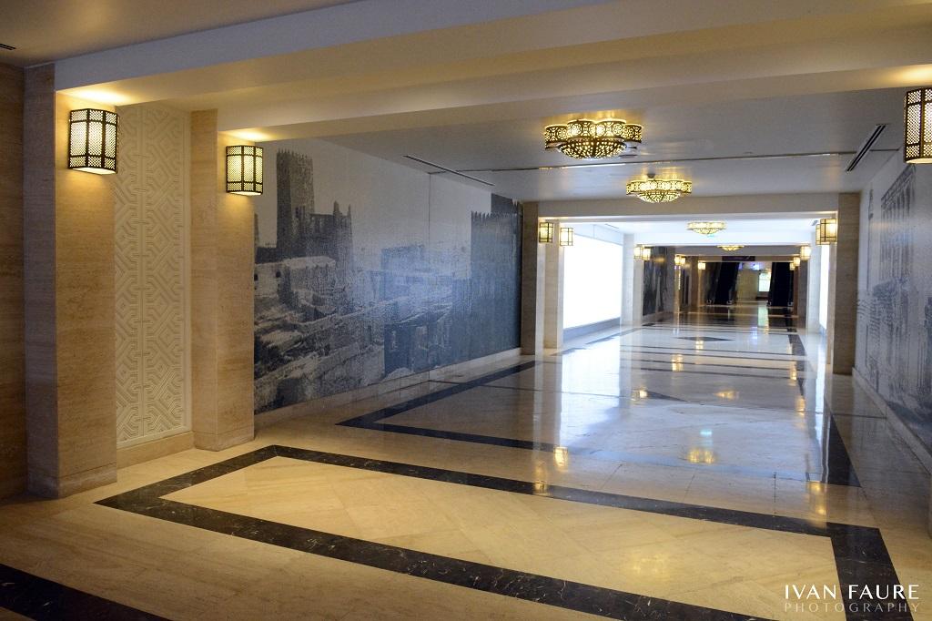 Los lujosos pasos subterráneos de Doha