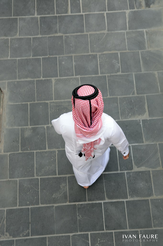 Vestimenta de los hombres locales de Doha