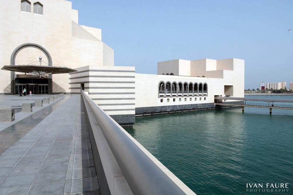 Exterior del Museo de Arte Islámico de Doha